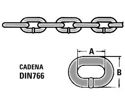 Cadena Acero Galvanizado - DIN766