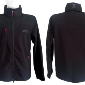 Campera Soft Shell Negra - GLACIAR