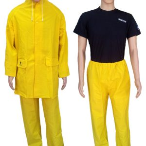 Equipo para Lluvia en PVC con Pantalón a la Cintura - GLACIAR