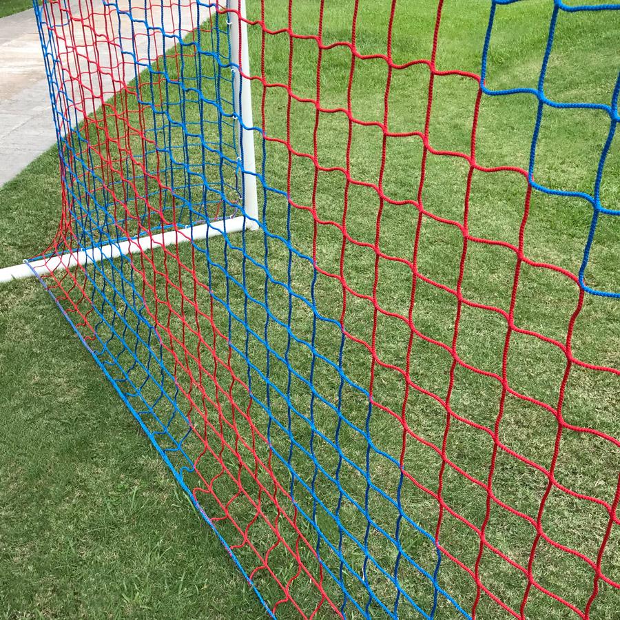 Red Fútbol Salacinco Tipo Diagonal Malla Cuadrada Bicolor Proamar